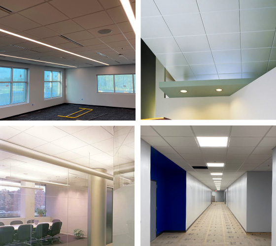 acoustical ceiling installation for pinellas and tamp bay area